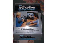 "Vidio sound mixer "" Videotape Audio mixer """