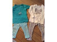 Girl's shirts with trousers