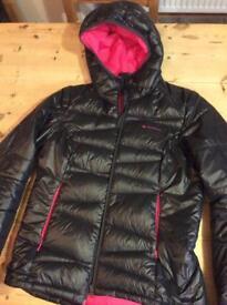 Black down jacket m