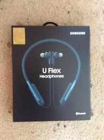 Samsung u-flex Bluetooth headphones (turquoise)