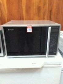 Brand New Silver&Black SHARP Microwave Oven (BRING YOUR OLD ONE AND GET NEW-25%)