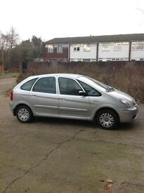 Citroen xsara picasso low mileage very clean car