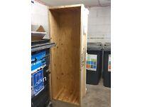 FREE wooden carton, indoor storage