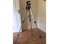 SLIK 35D Classic pro camera tripod 2ft to 5ft Digital SLR heavy duty good condition