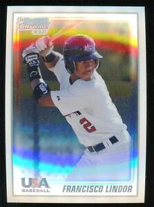2010 BOWMAN CHROME USA FRANCISCO LINDOR NON AUTO QTY *READ*