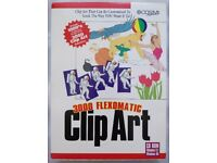 3000 Flexomatic Clip Art - Microsoft Windows Retro CD-ROM