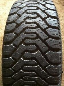 4 - Goodyear Nordic Winter Tires - 225/60 R16 with Excellent Tread (Not on rims)