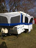 2007 Starcraft 20 ft tent trailer with slide out