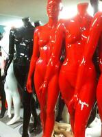 USED TRACK LIGHTS MANNEQUINS COUNTERS SHOWCASES RECYCLED