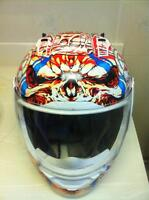 ICON CHIEFTAIN MOTORCYCLE HELMET SIZE 2XL