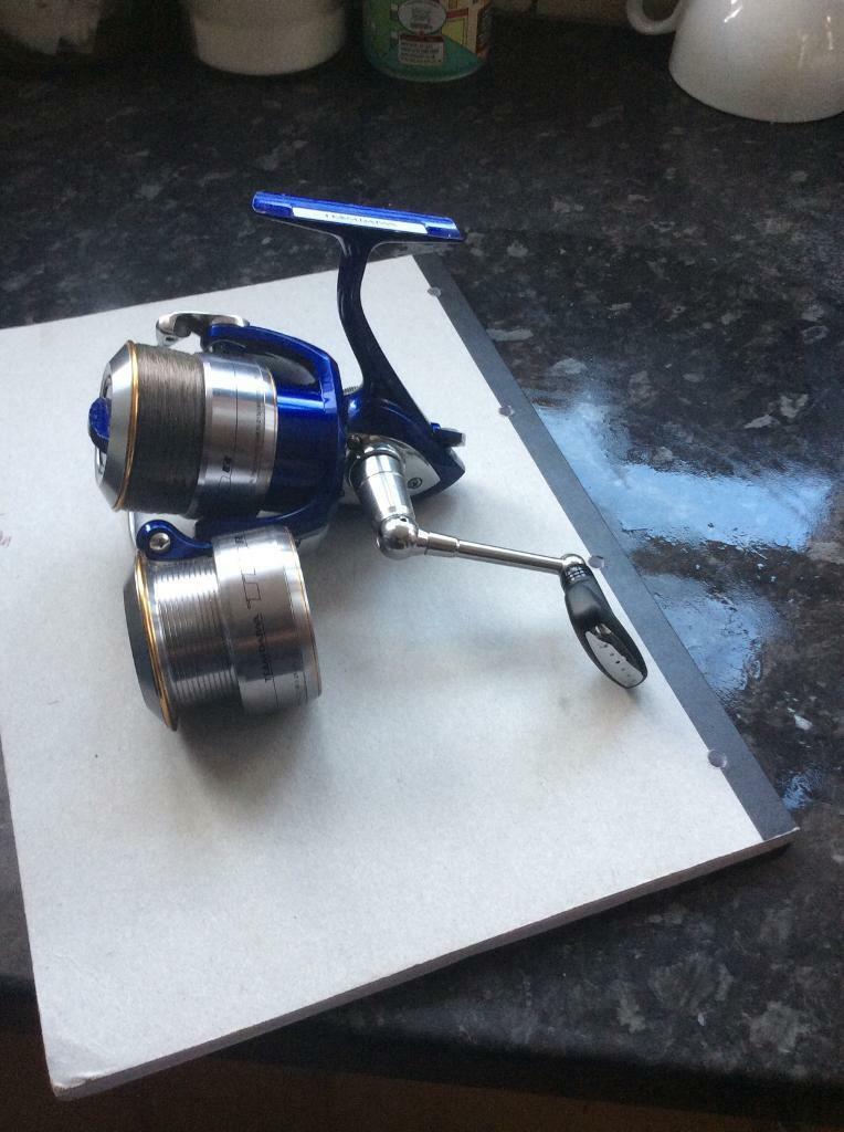 Match reel fishing reel