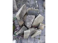 Sandstone Rockery Stones - Mixed Sizes (4)