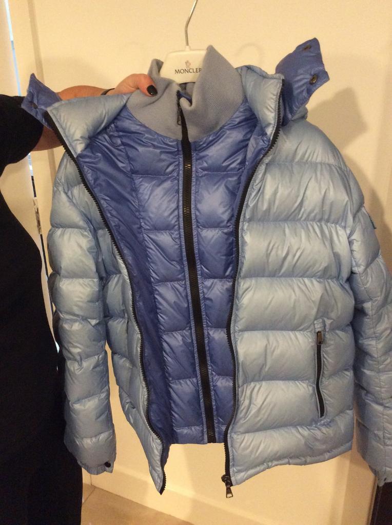 059e3689ccfc Bargeddie baby in Gumtree Moncler Glasgow blue puffer jacket XwdAq