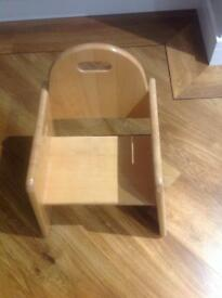Childs Wooden Chair