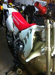 Honda cr500 92 with a Honda CRF450 complete bike without the eng