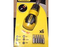 Stanley Multi Bit screwdriver