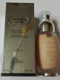 DIORSKIN Dior Skin CD NUDE 75ml Natural Glow Hydraying Makeup 15 SPF