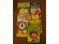 9 x YOUNG CHILDREN'S BOOK JOB LOT