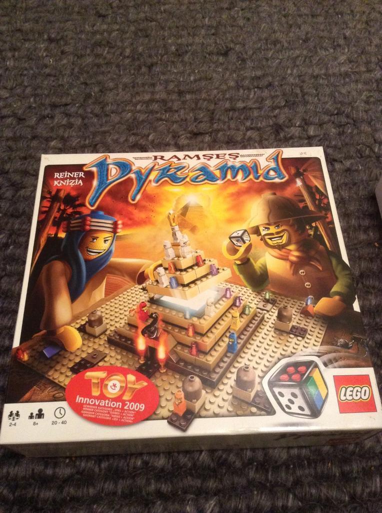 Lego Ramses Pyramid Board Game Ref 3843 Age 8