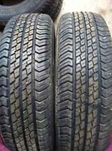 2 - Motomaster AW All Season Tires - 195/75 R14