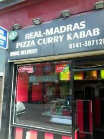 Indian takeaway for sale in Glasgow