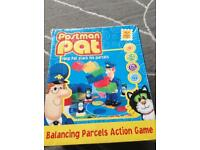 Postman Pat balancing parcels action game