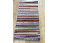 John Lewis gorgeous handmade pure wool rug, new. SOLD