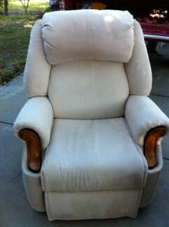 recliner chair, recliner armchair with side pockets