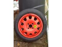 Ford Focus mk1 space saver spare wheel