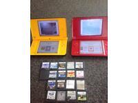 2 Nintendo dsi xl and games £100 Ono
