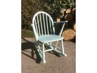 Vintage Ercol Child's Rocking Chair