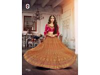 Credence Wedding Wear Heavy Work Choli