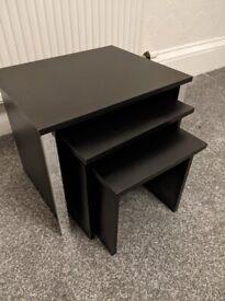 Nest of Tables (Black)