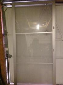 Pair of Ikea Pax Stovall sliding doors