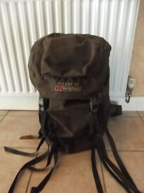 Berghaus Pulsar 65 Rucksack 65 litres slight damage to strap cover does't affect use of the rucksack
