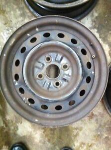 "4 - Toyota Echo 14"" Steel Rims (4X100)"