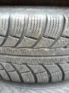 "4 - Toyota Rav 4  16"" Steel Rims with Good Nord Frost Winter Tires - 225/70 R16"