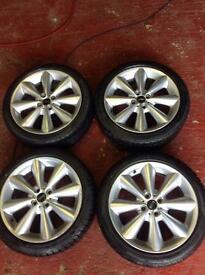Mini genuine alloy wheels