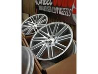 "Brand new 19"" WC5 Twist alloy wheels Audi VW Mercedes"