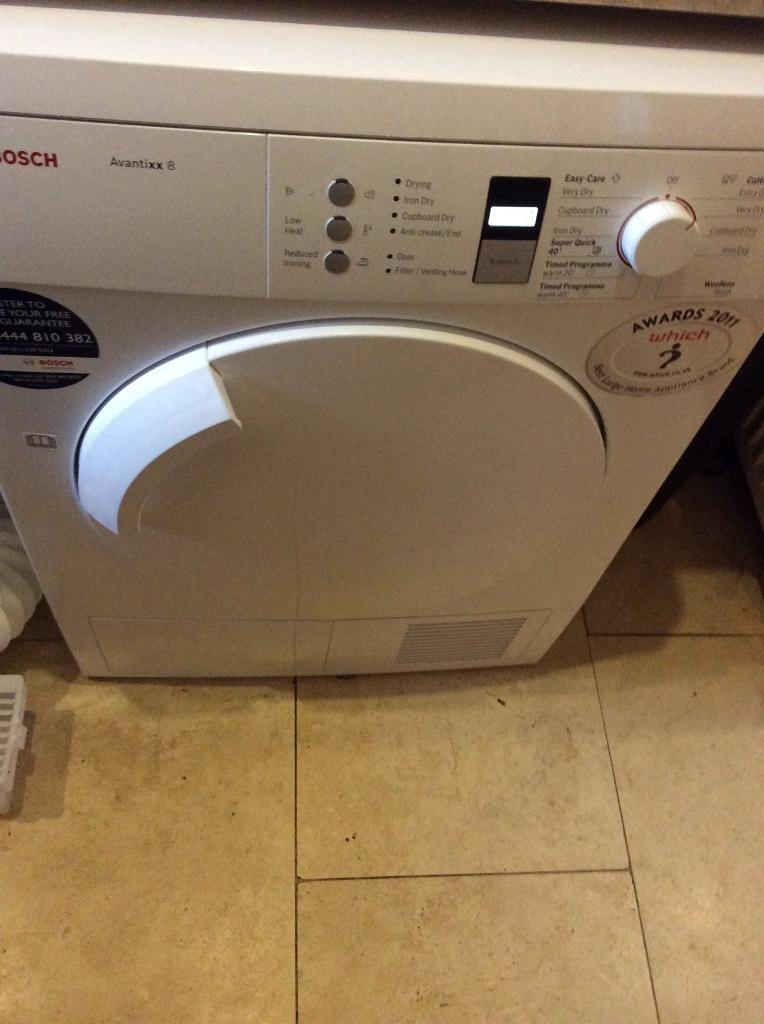 Bosch Avantixx8 tumble dryer