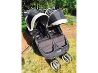 Baby Jogger City Mini Double Pushchair - Black