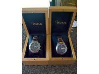 Gents avia quartz watches ,excellent condition.