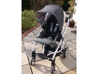 Mamas and Papas Sola Pushchair and accessories in Denim