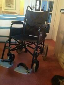 Invacare Folding Adult Wheelchair