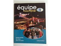 Équipe nouvelle: Part 1: Students' Book French Textbook and Workbook