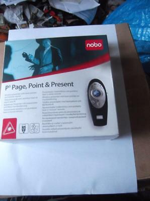 NEW NOBO P3 PAGE, POINT AND PRESENT LASER POINTER/MOUSE.No, 1902390,  (2446)