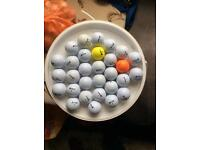 30 srixon Golf balls used but in clean condition