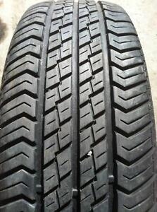 "4 - Honda Civic 14"" 4 Bolt Steel Rims with Excellent Motomaster AW All Season Tires 185/65 R14"