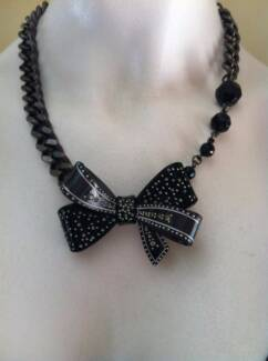 Mimco Bow Necklace - Excellent condition Wavell Heights Brisbane North East Preview