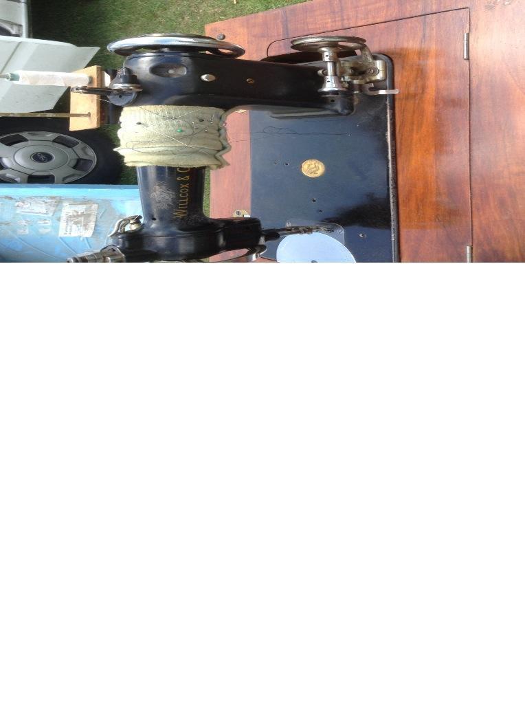 wilcox and gibbs sewing machine